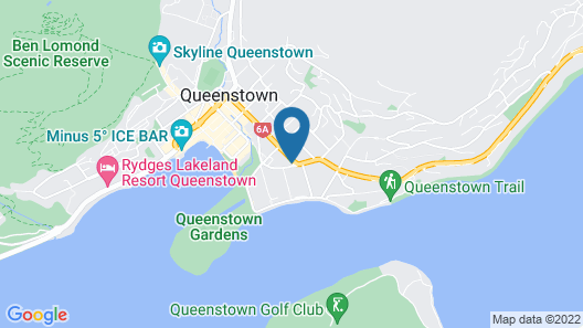 Ramada Queenstown Central Map