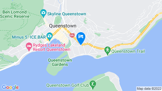 Copthorne Hotel and Resort Queenstown Lakefront Map