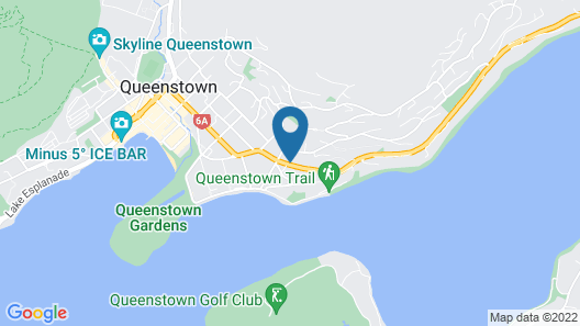 Copthorne Hotel & Apartments Queenstown Lakeview Map