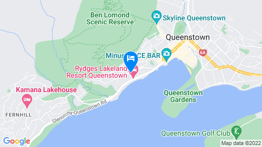 QT Queenstown Map