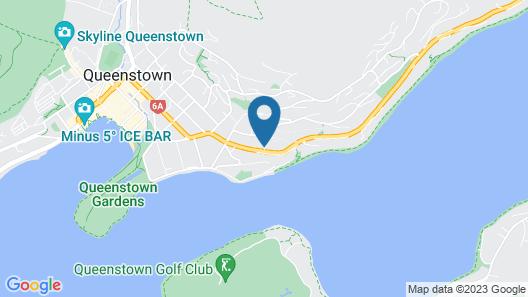 Swiss-Belsuites Pounamu Queenstown Map