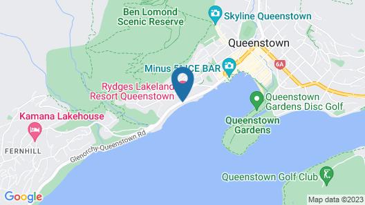Rydges Lakeland Resort Queenstown Map