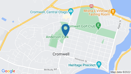 Anderson Park Motel Map