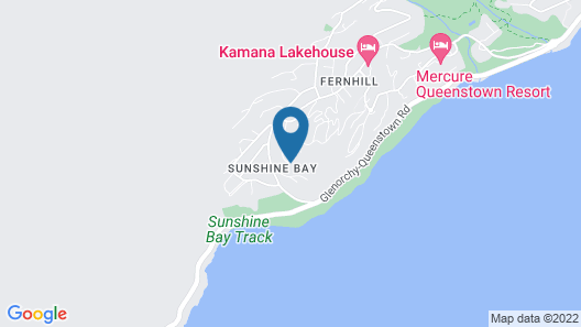 Azur Luxury Lodge Map