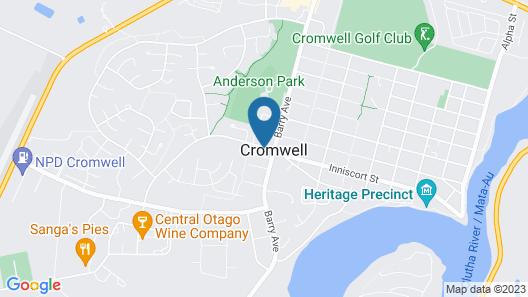 Cromwell Motel Map