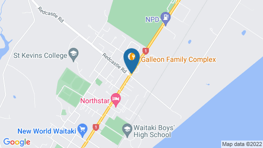 Ascot Oamaru Motel Map