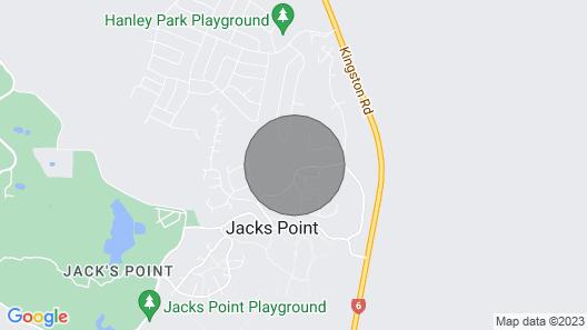 Luxury Escape - Jacks Point Holiday House Map