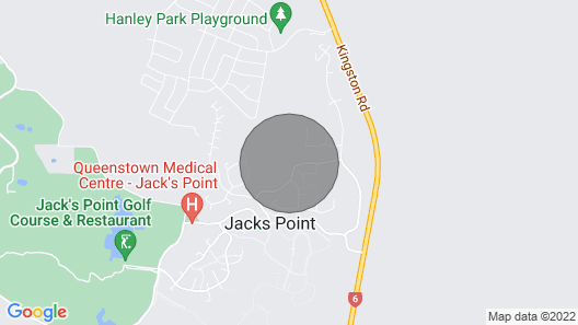 The Woolshed - Jacks Point Holiday Home Map