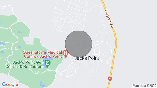 Family friendly, close to Jacks Point Golf Course & Remarkables Ski Area Map