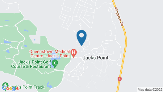 Luxury home at Jacks Point Queenstown Map