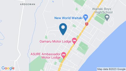 Oamaru Holiday Homes Largo House Map