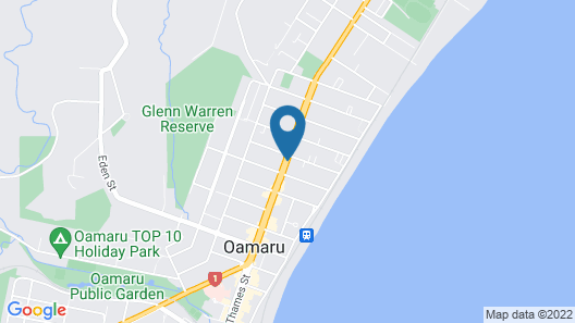289 Midway Motel Map
