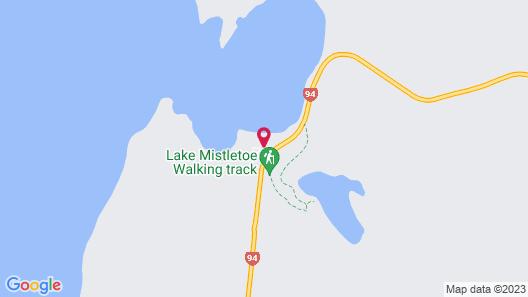 Fiordland National Park Lodge Map