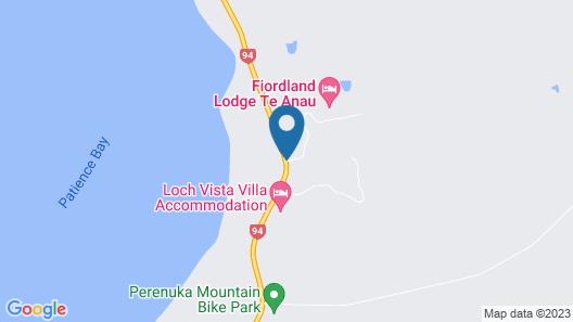 Fiordland Lodge Map