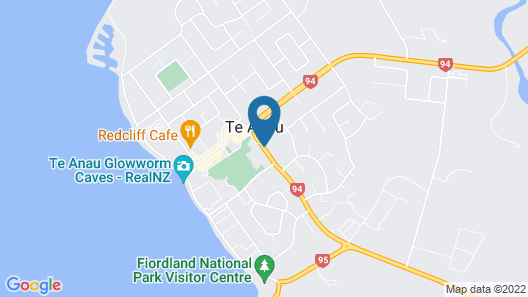 Te Anau Top 10 Holiday Park Map