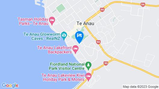 Bella Vista Motel Te Anau Map