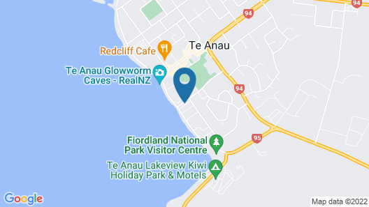 Distinction Te Anau Hotel And Villas Map