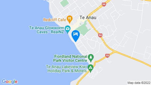 Lakefront Lodge Map
