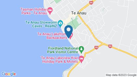 Edgewater Motel Te Anau Map