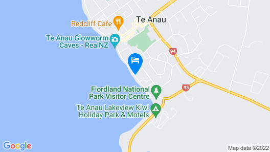 Fiordland Lakeview Motel and Apartments Map