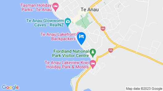 Lakeside Motel and Apartments - Te Anau Map