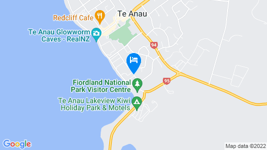 Anchorage Motel Apartments Map
