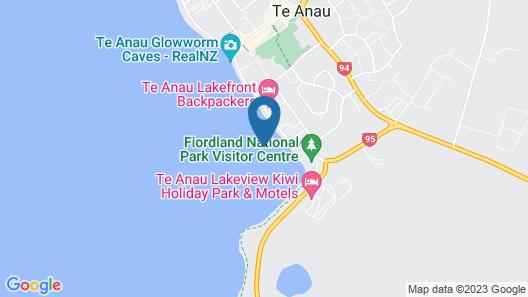 Kingsgate Hotel Te Anau Map