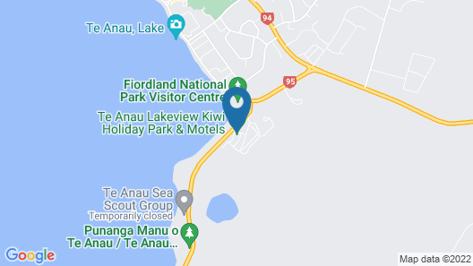 Marakura Deluxe Motels Map