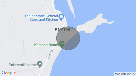 Cloud 9 Retreat - Karitane - Absolute Beachfront Holiday Home Map