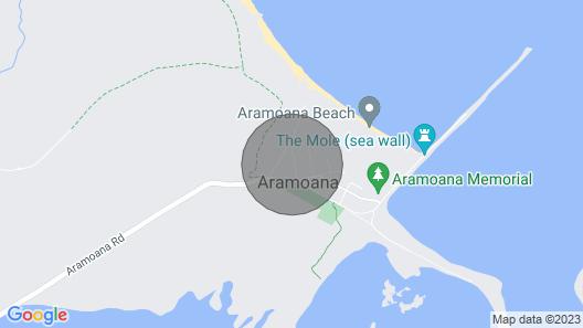 Beachaven - Aramoana Map