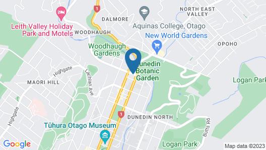 Heritage Dunedin Leisure Lodge Map