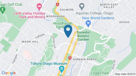 Garden Motel Map