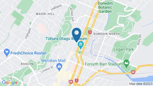 Allan Court Motel Map