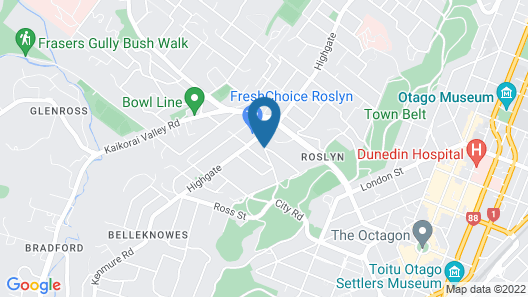 Roslyn Apartments Map