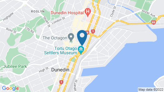 Law Courts Hotel Map