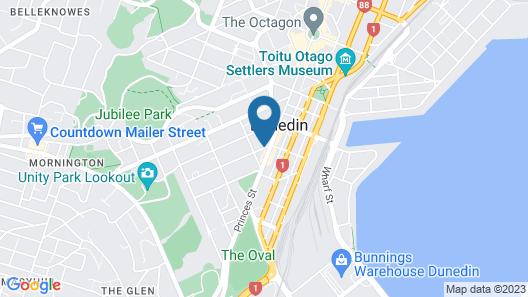 Motel On Carroll Map