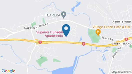 Superior Dunedin Apartments Map