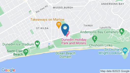 Dunedin Holiday Park & Motels Map