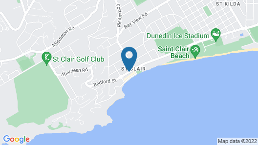 Majestic Mansions - Apartments at St Clair Map