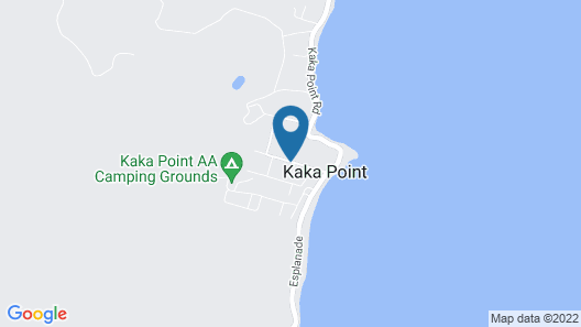 The Kaka Point Motels Map