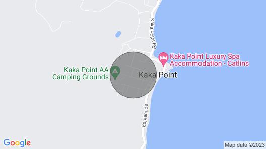 Kaka Point Holiday House Map