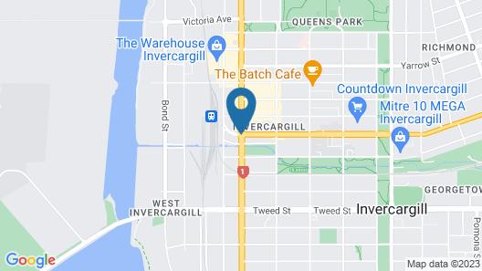 Quest Invercargill Serviced Apartments Map
