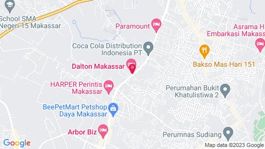 Dalton Makassar Map