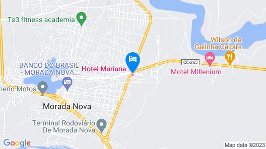 Hotel Maryana Map