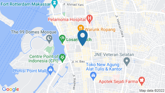 Best Western Plus Makassar Beach Map