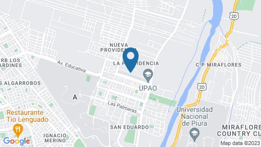 Condominio Dpto CON Piscina, Gimnasio,cine Privado Cerca al Centro de Piura Map