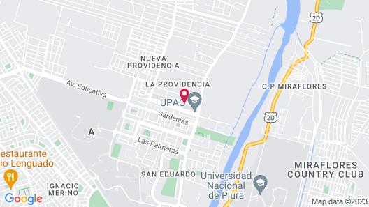 Suites las Palmeras del Chipe Map