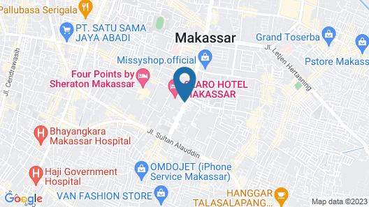 Claro Makassar Map