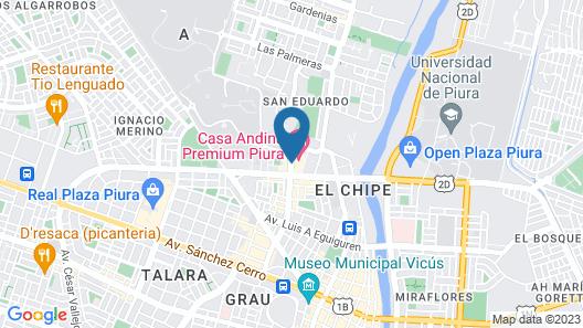 Casa Andina Premium Piura Map