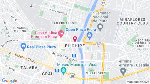 Tierra Viva Piura Map